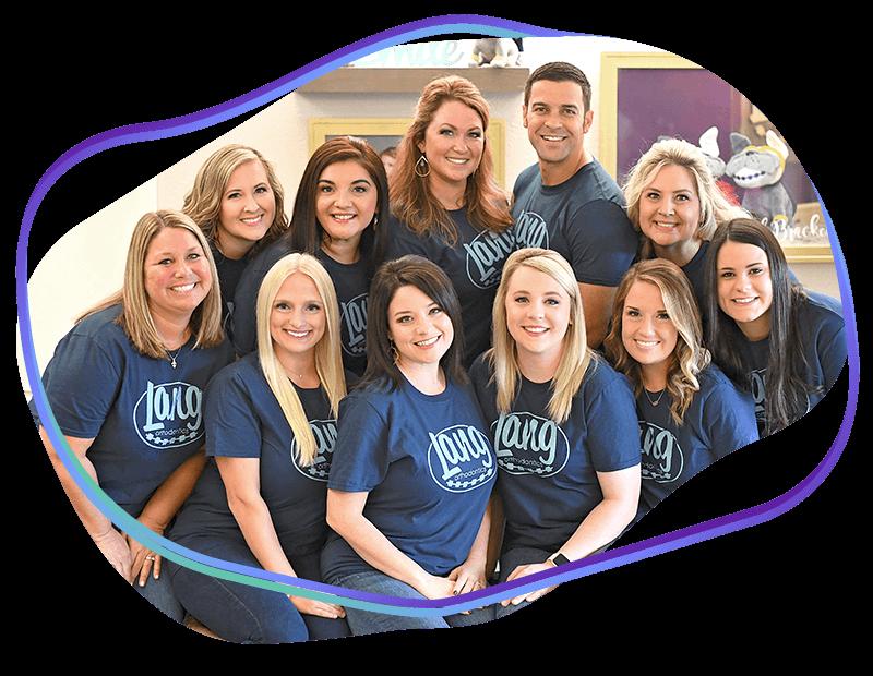 Lang Orthodontics Team Photo